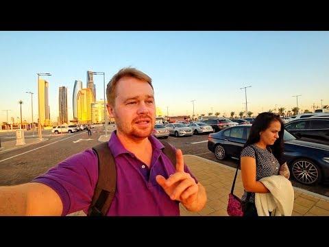 Арабские Эмираты 2020. Прогулка по Абу- Даби! Мечеть шейха Зайда. Дворец Каср Аль Ватан.