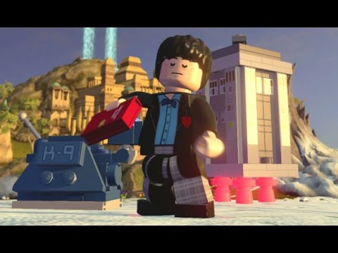 LEGO Dimensions - Second Doctor (Patrick Troughton) Free Roam Gameplay (Chima Adventure World)