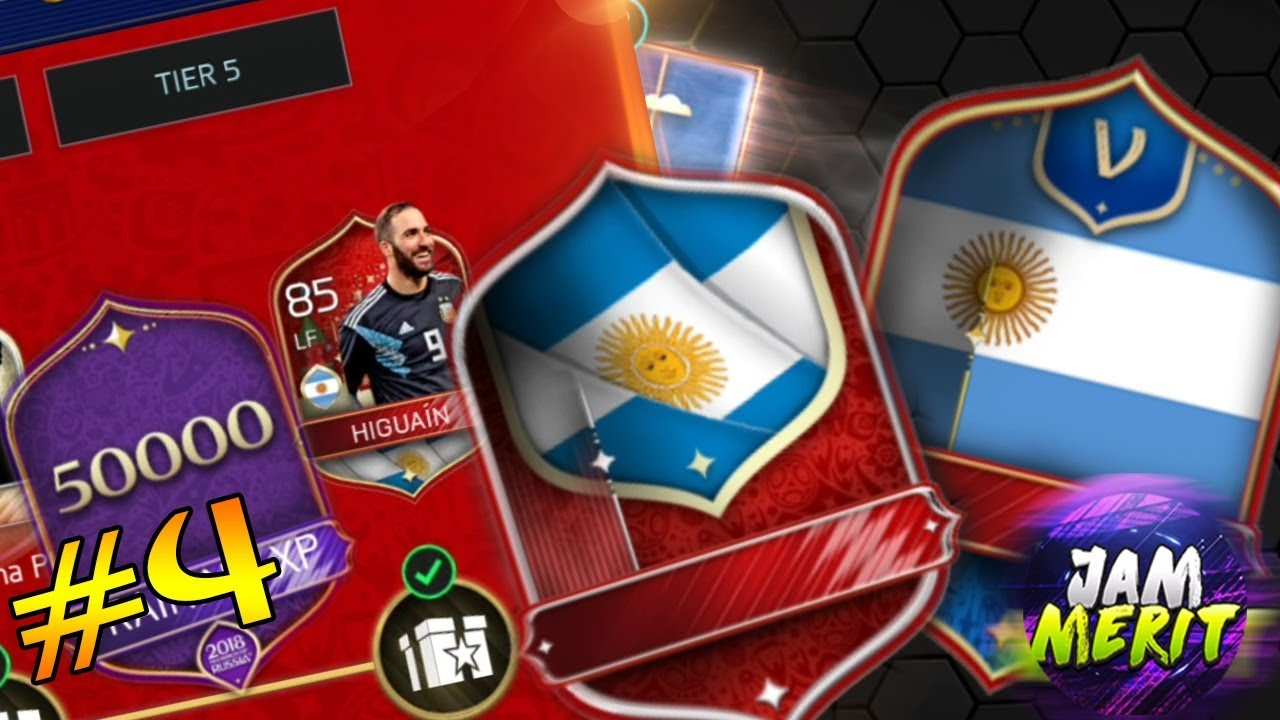 TOURNAMENT RUN , TIER 3 ARGENTINA & FANTASY ELITES ! | FIFA Mobile World Cup Russia 2018 #4
