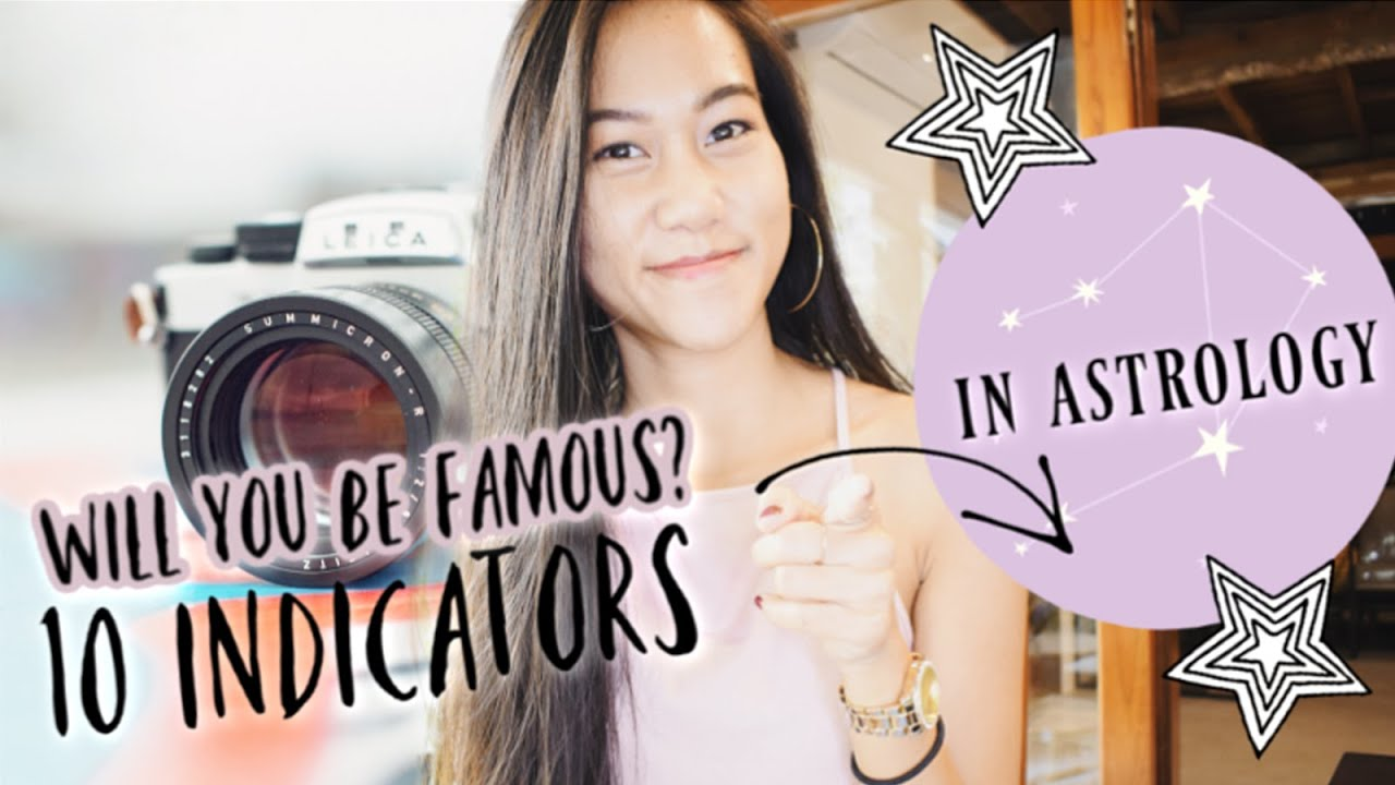 TOP 20 SIGNS OF FAME IN THE NATAL CHART// natal chart of famous people