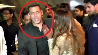 drunk salman khan insults reporter at bipasha basu and karan singh grover wedding 2016