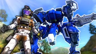 Mech Defends Earth from GIANT INSECTS! - Earth Defense Force 5 Gameplay - EDF Mech Battle