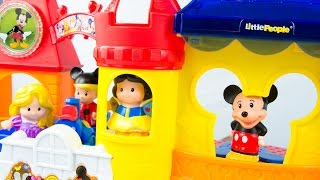 Fisher-Price Disney Little People Magic at Disney Day at Disney Mickey Mouse Toys Review