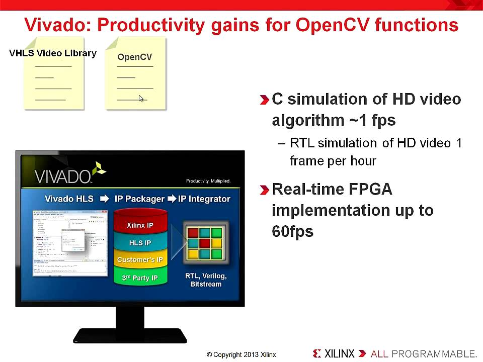 비바도를 이용하여 OpenCV 애플리케이션을 Zynq-7000에 최적화하기