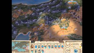 Rome: Total War Barbarian Invasion - Sassanids - Main Campaign Part 1 of 24 - With Commentary