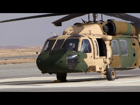 US delivers two more Black Hawks to Jordan