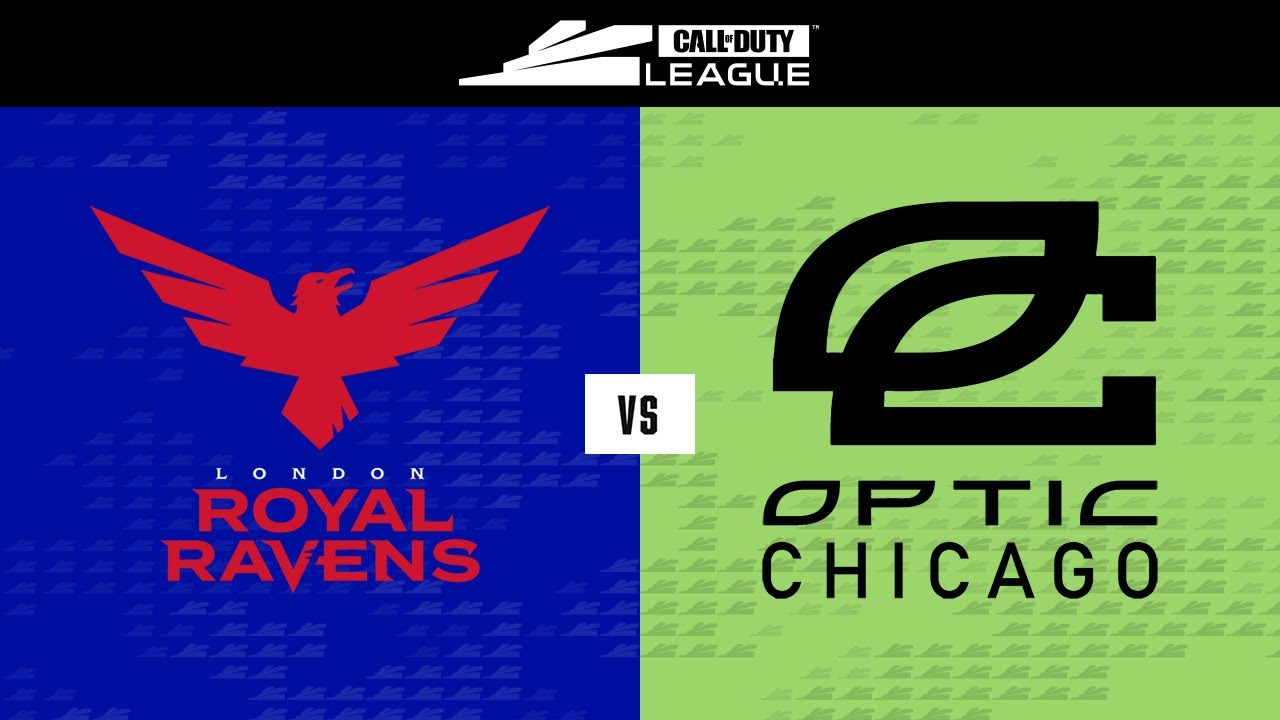 @London Royal Ravens vs @OpTic Chicago | Stage V Week 3 — Seattle Home Series | Day 1