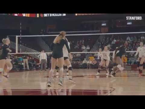 Stanford Women's Volleyball: USC Match Point