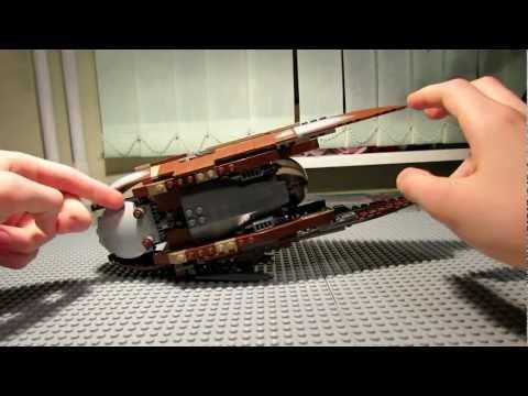 Lego Star Wars 7752 Count Dooku's Solar Sailer Review