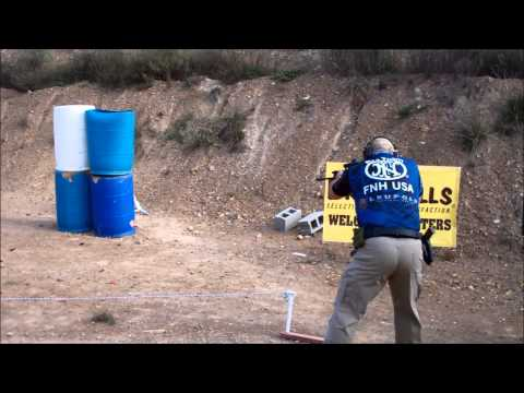 2013 FNH 3Gun Stage 3 Pro Team shooter Erik Lund