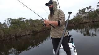 SUP Fishing. Winter Bream