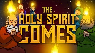 The Holy Spirit Comes - Acts 2 - Pentecost For Kids | Sunday School Lesson | Sharefaithkids.com