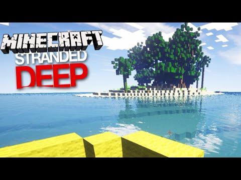 Minecraft STRANDED DEEP: O INÍCIO NA ILHA! #01