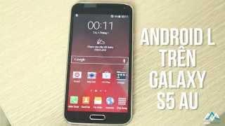 Hướng dẫn cài rom 5.0 lollipop Samsung Galaxy S5 AU SCL23