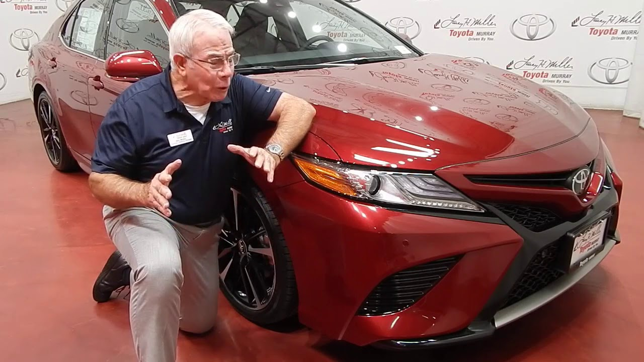 Larry H. Miller Toyota Murray   2018 Toyota Camry Walk Around