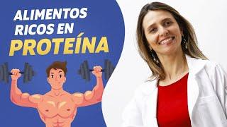 Alimentos con Proteínas para ganar MASA MUSCULAR