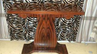 Art Deco Console Table, French Art Deco Console Table Texas.