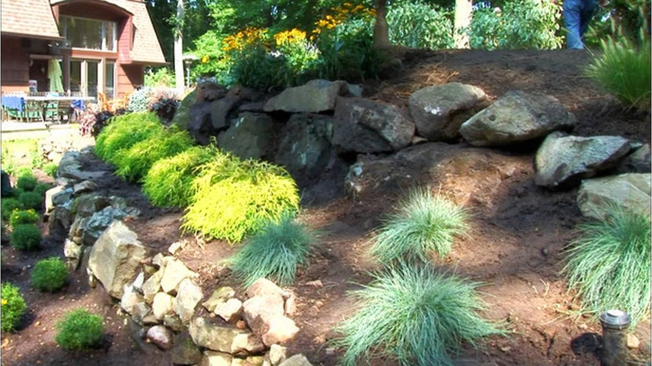 small rock garden design