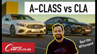 Mercedes CLA vs Mercedes A-Class Sedan Review - What's the difference?