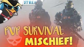 PVP SURVIVAL MISCHIEF! w/ TuxBird - The Division 1.5/Survival Livestream