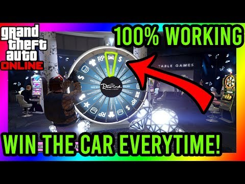 GTA 5 - Win The Car On The Lucky Wheel Every Time You Spin! NEW METHOD 100% Working!!