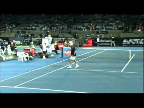 John McEnroe V Henri Leconte   World Tennis Challenge Adelaide 2012