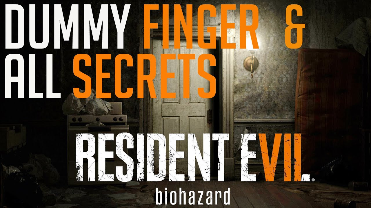 maxresdefault resident evil 7 dummy finger all secrets youtube RE7 Mia at bayanpartner.co