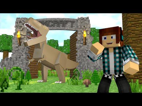Minecraft : PARQUE DOS DINOSSAUROS !! - ARK CRAFT SURVIVAL #43