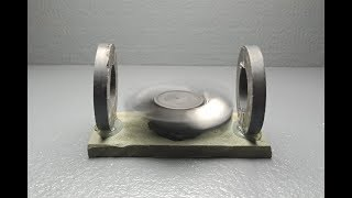 Free Energy Generator   new Project using magnets and fan
