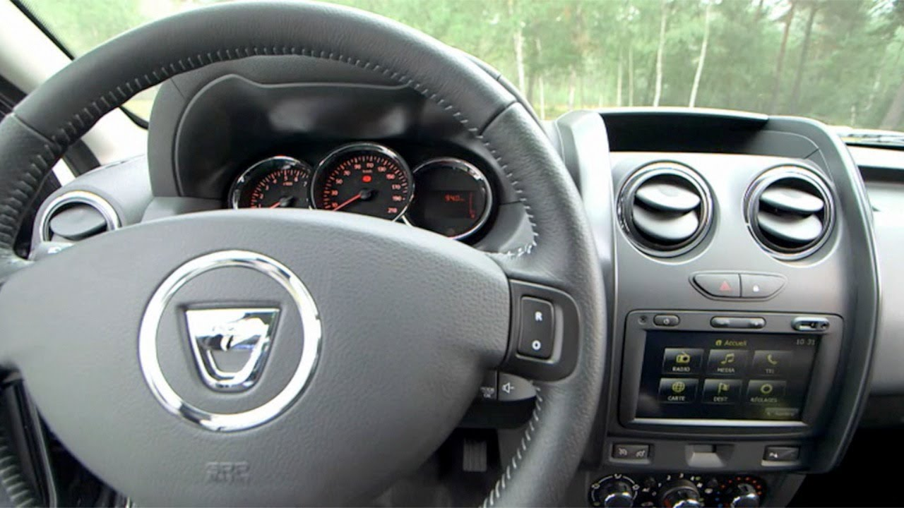 2014 Dacia Duster INTERIOR - YouTube