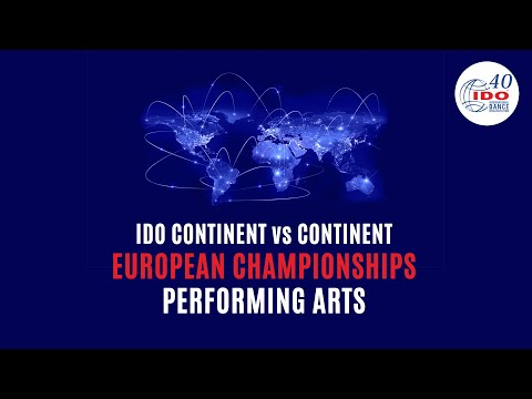 IDO CONTINENT VS CONTINENT | PERFORMING ARTS | EUROPE | DAY 1 | PART 1