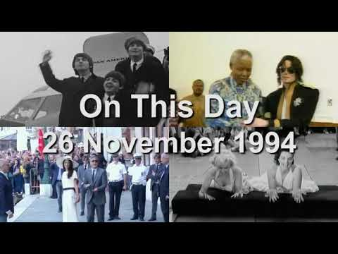 On This Day: 26 November 1994