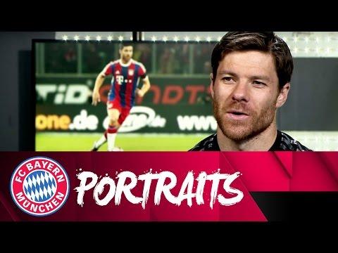 Xabi Alonso Portrait