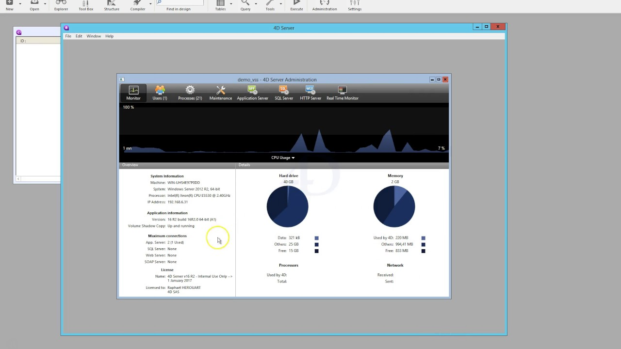 Vmwareesxi Snapshot Example (volume Shadow Copy Service)