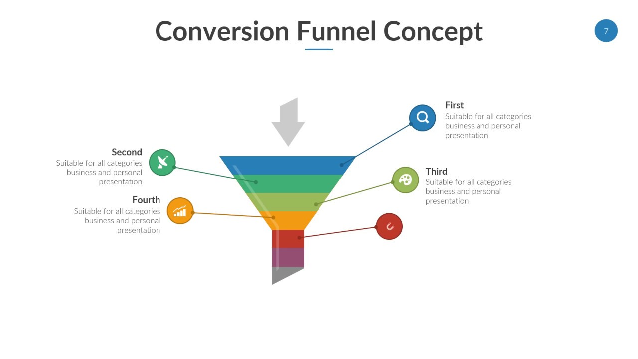 Funnel diagram keynote template youtube funnel diagram keynote template ccuart Choice Image