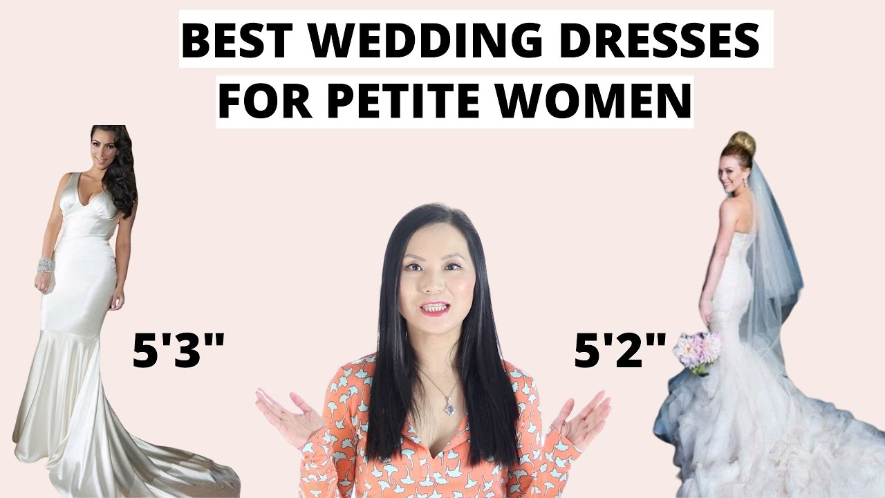 17 Perfect Wedding Dresses For Petite Brides Hitched Co Uk