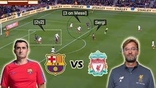 Tactical Preview | Jurgen Klopp vs Ernesto Valverde | Barcelona vs Liverpool