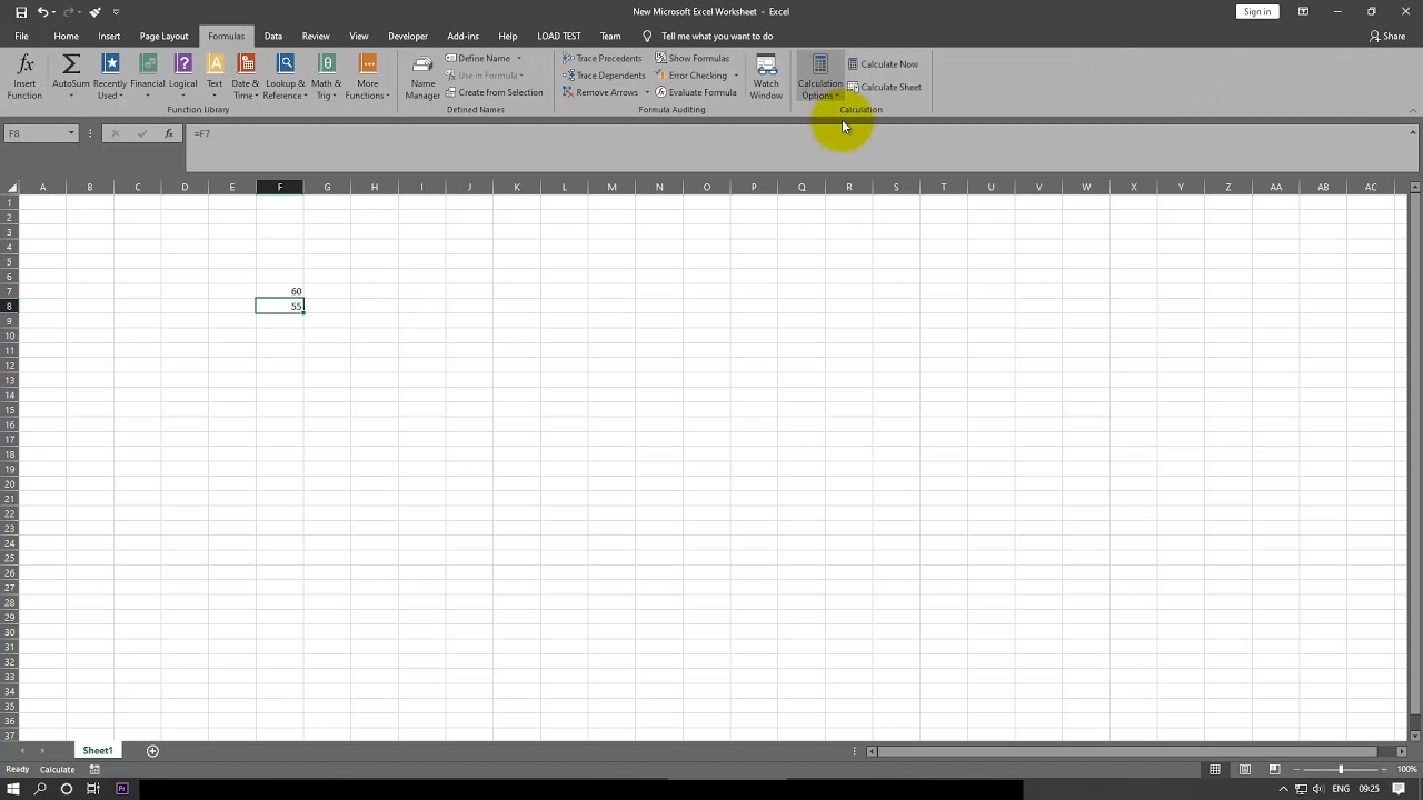 [Fix] excel formulas not updating automatically