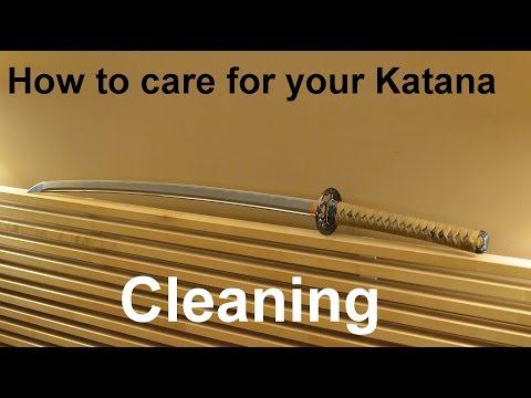 How to clean your Katana
