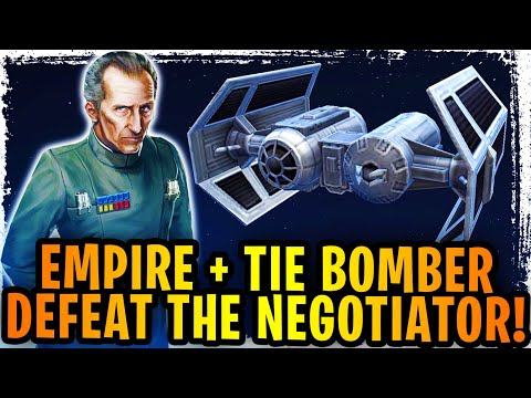 TIE Bomber Brings The Imperial Fleet To Glory! Tarkin Burns Negotiator And CRUSHES The Rebellion!
