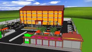 Cover images Rancangan Desain Gedung Olahraga Desa Pingit - Pingit Sport Center by Official BRAP