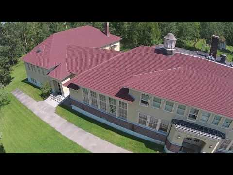 Alango School Droned by Tom and Jamie Jensen