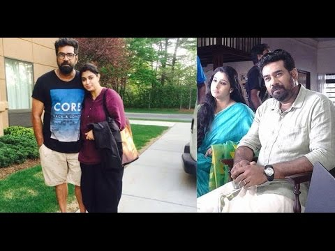Samyuktha Varma Family Photos Biju Menon with...