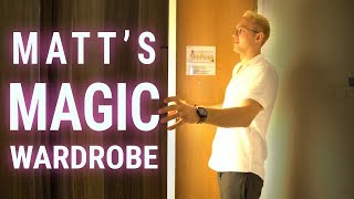 Matt's Magic Wardrobe - Digital Entrepreneur Lifestyle Revealed