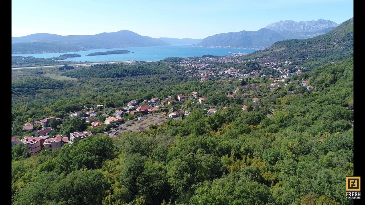 Porto Montenegro Karte.Kotor Kavač Tivat Porto Montenegro View Large Amount Of Urbanized Land