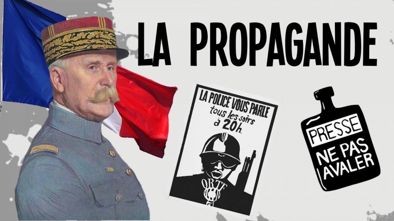 La propagande dans l'Histoire ! - YouTube