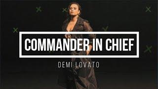 Demi Lovato - Commąnder In Chief II Lyrics + Deutsche Übersetzung