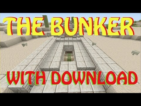 Minecraft- The Bunker- With Download [XBOX & PC]