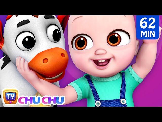 Baby goes to Old MacDonalds Farm + More ChuChu TV Baby ...