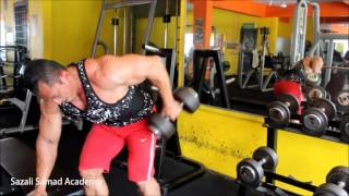 Back workout part 2/3 - Dumbbell row
